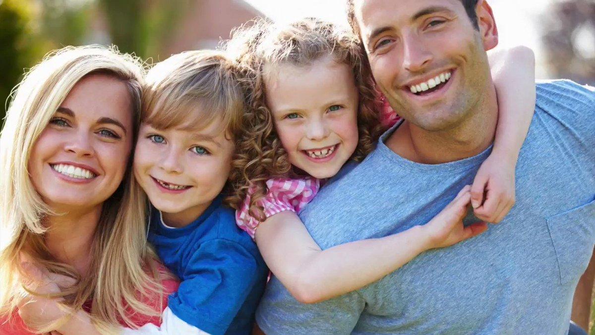 семья дети радость счастье