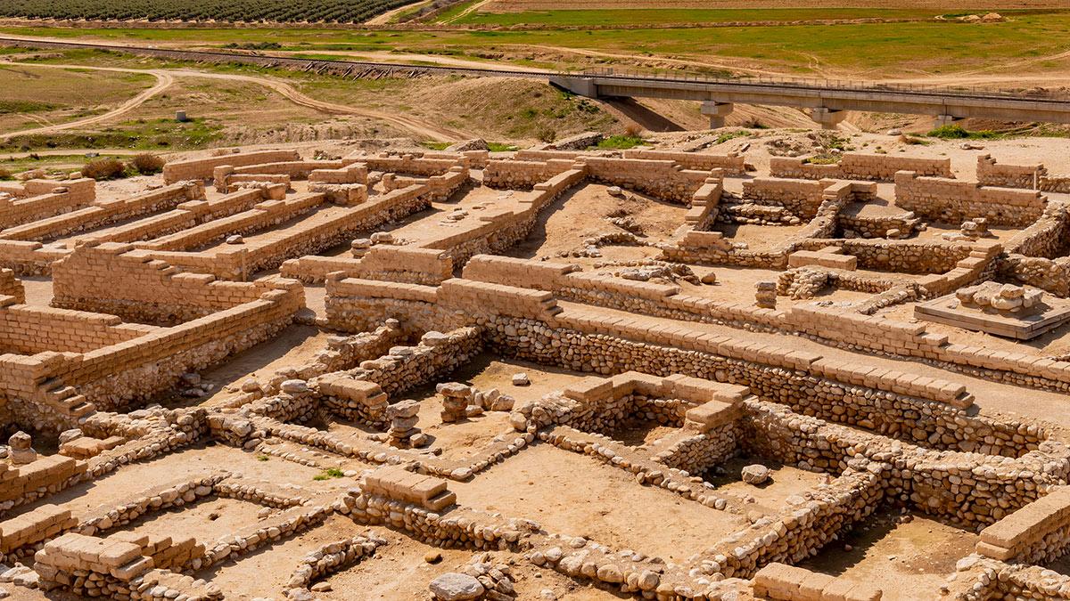 Беэр-Шева археология раскопки израиль