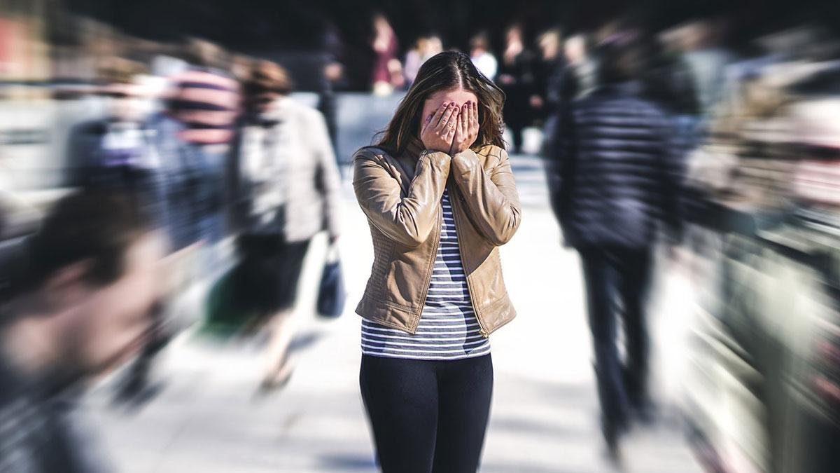 стресс депрессия фобия