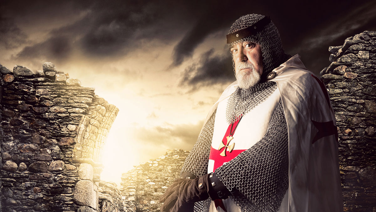 Рыцарь тамплиеров руины история воин