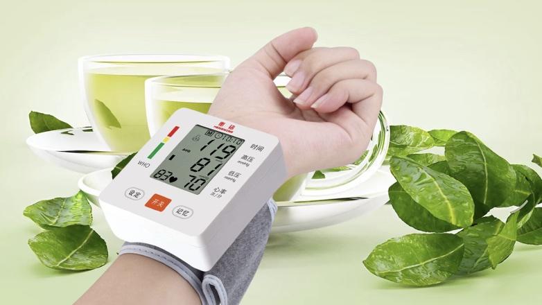 зеленый чай пульс и давление