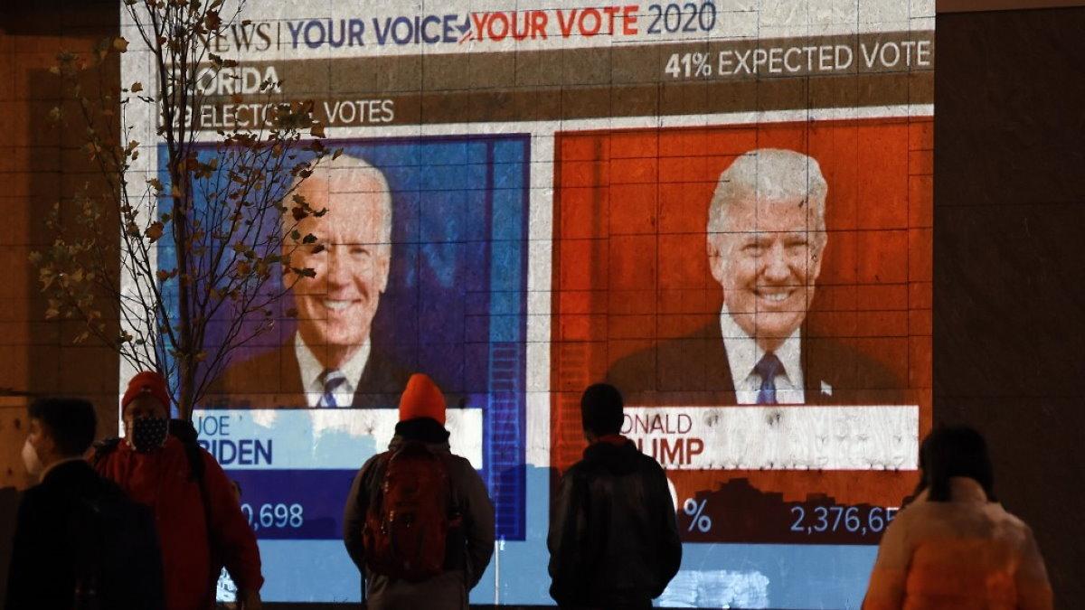 Джозеф Байден и Дональд Трамп выборы 2020