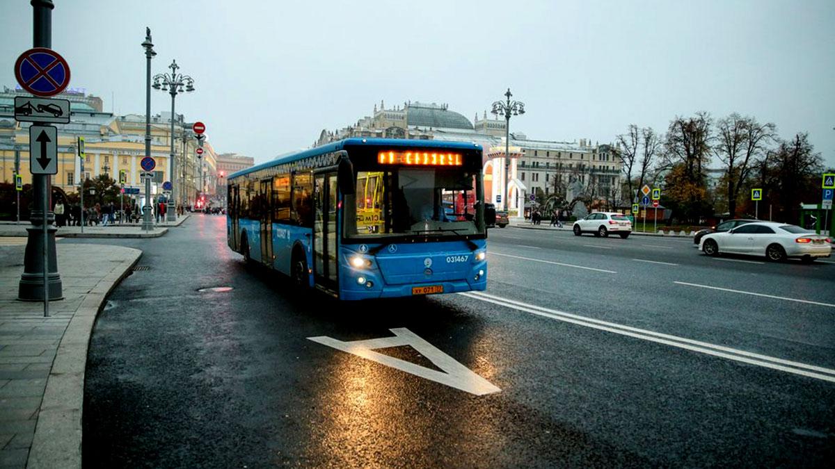 автобус москва выделенная полоса для общественного транспорта