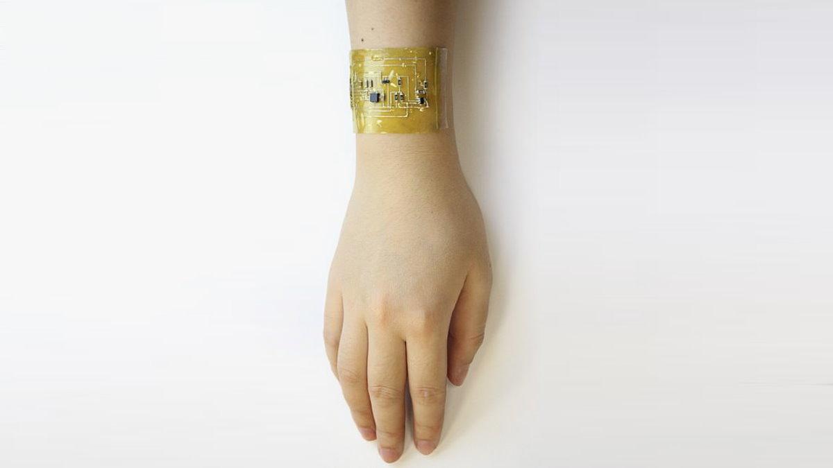 Самовосстанавливающаяся электронная кожа