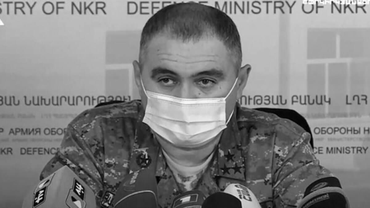 Погиб заместитель командующего Армией обороны Артур Саркисян Нагорный Карабах