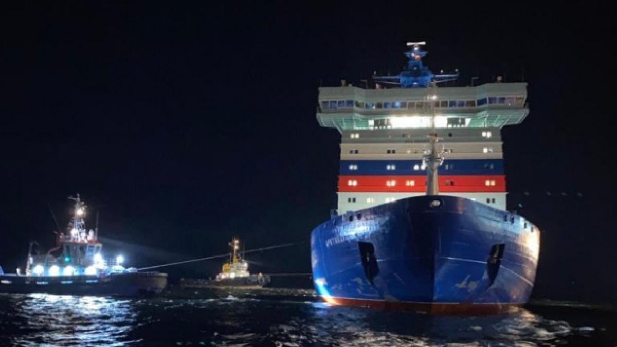 Атомный ледокол Арктика два