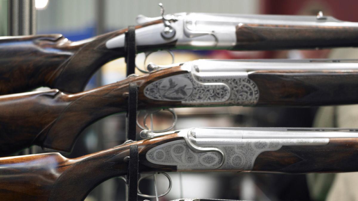 Охотничье оружие охота ружья оружейный магазин