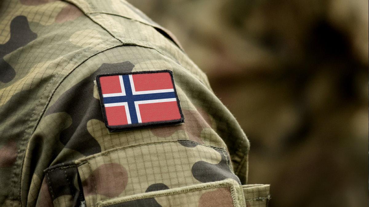 Норвегия норвежский солдат армия