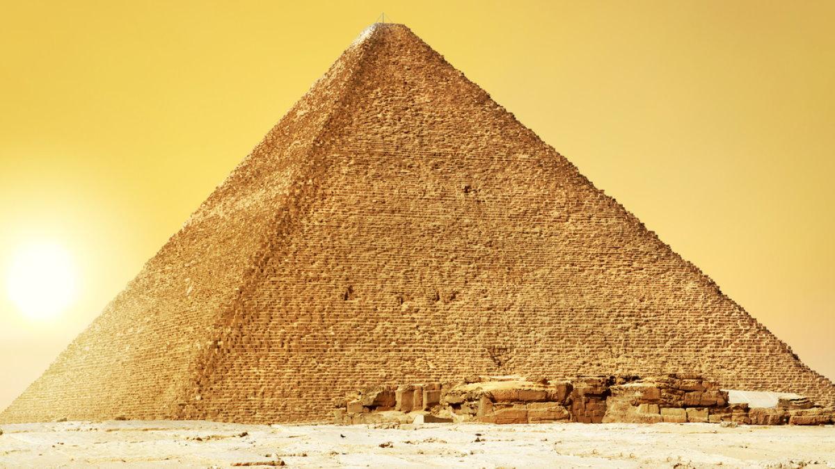 Пирамида Хеопса Гиза два