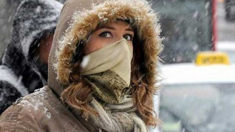 Девушка замерзла Москва