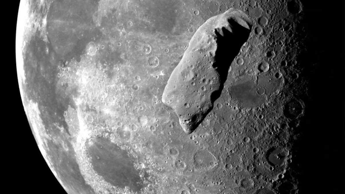 Донвильгельмзит метеорит Луна