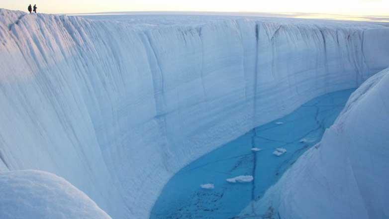 Greenland ice sheet Гренландия секрет под снегом