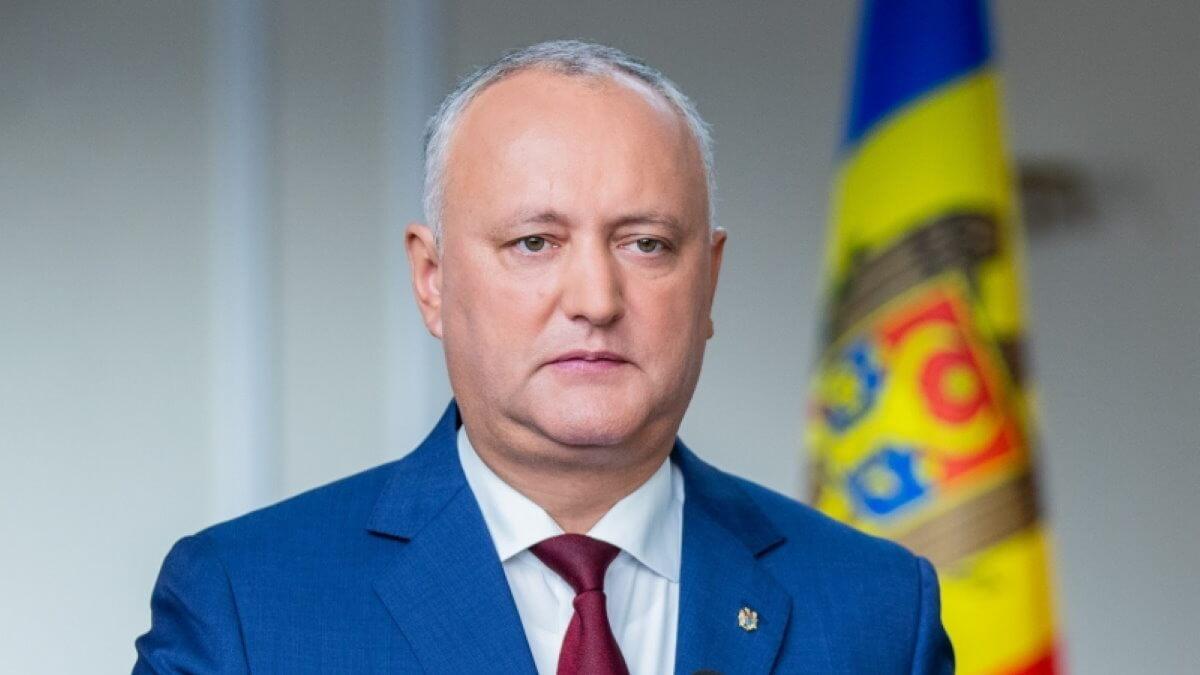 Президент Молдавии Игорь Додон два