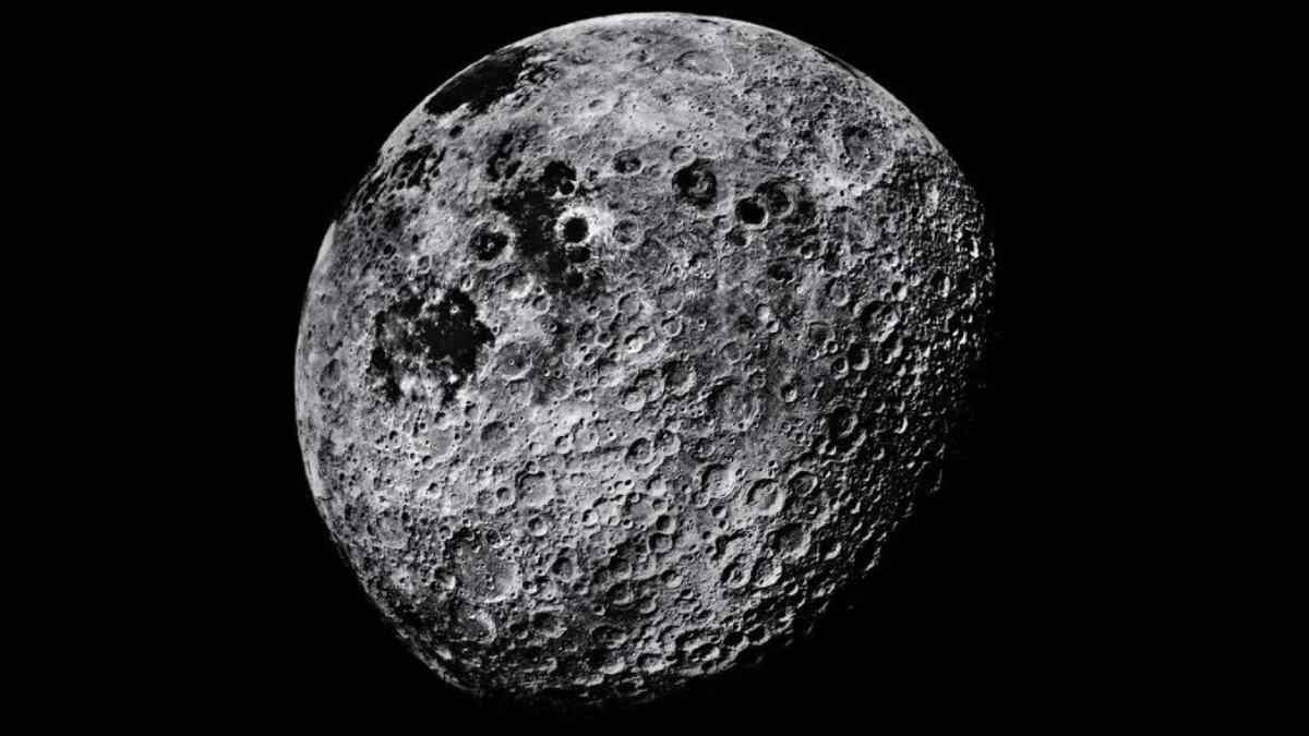 Луна кратеры два