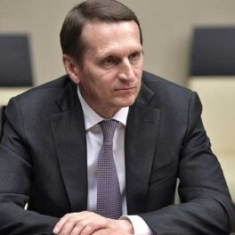 Нарышкин заявил о фактах продвижения россиянами в США санкций против России