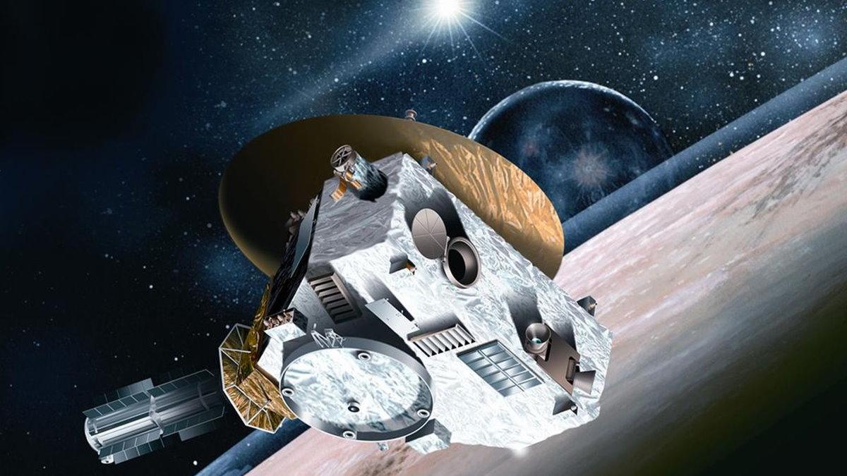 Космических зонд NASA - New Horizons - Новые горизонты