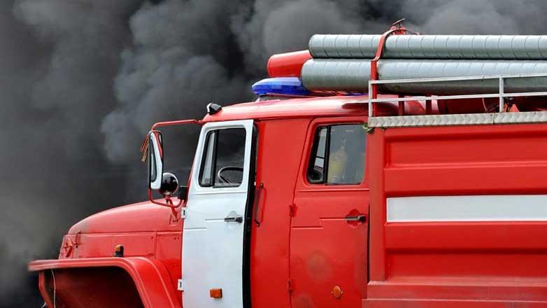 Пожар Москва пожарная машина