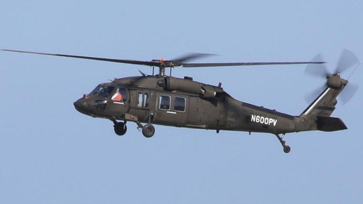 Вертолёт Sikorsky UH-60A