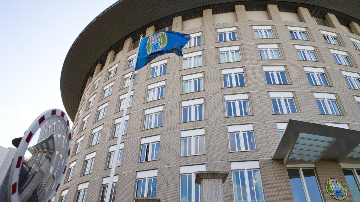Здание Организации по запрещению химического оружия в Гааге ОЗХО Организация Конвенция