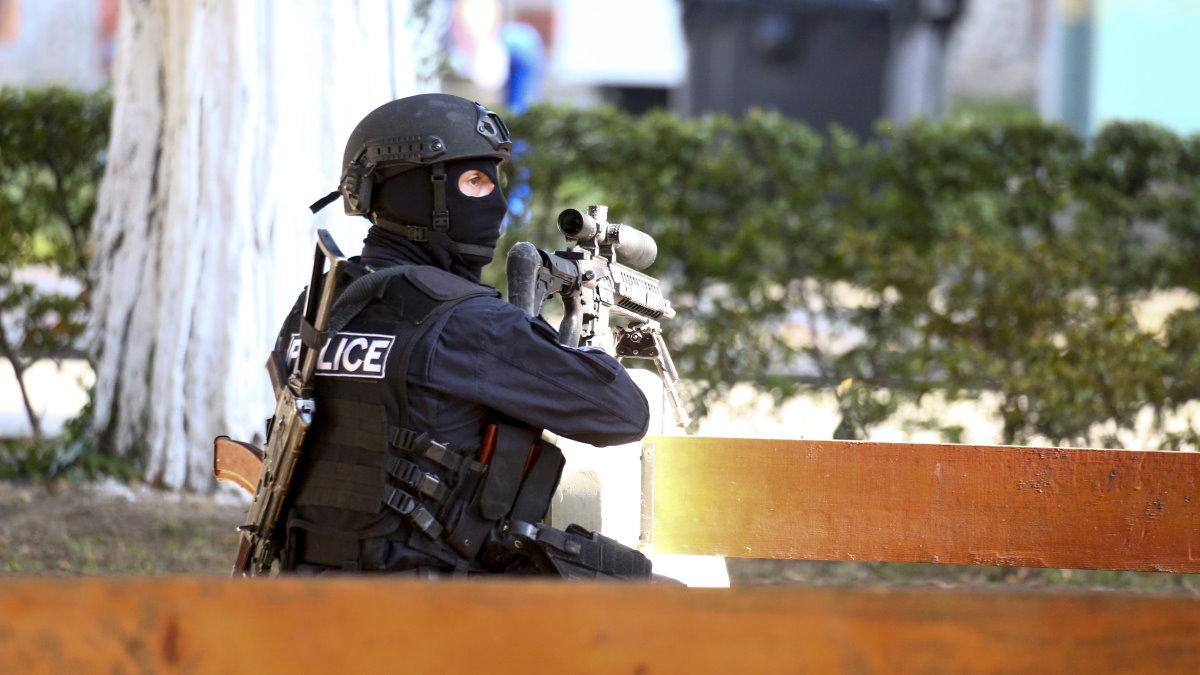Грузия полиция захват заложников