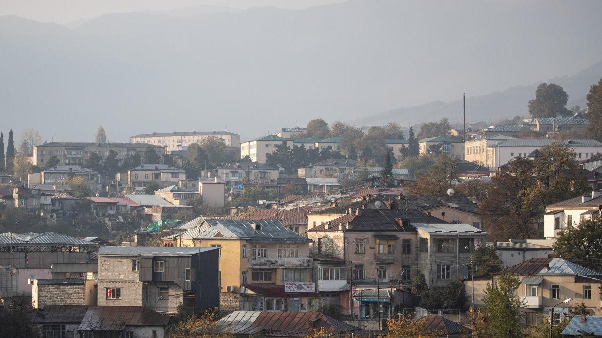 Нагорный Карабах город Степанакерт конфликт