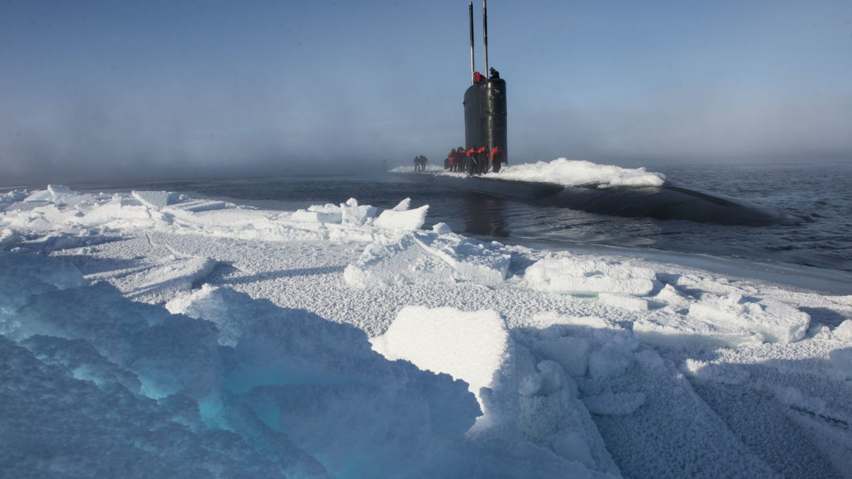 Подводная лодка USS Hartford Арктика