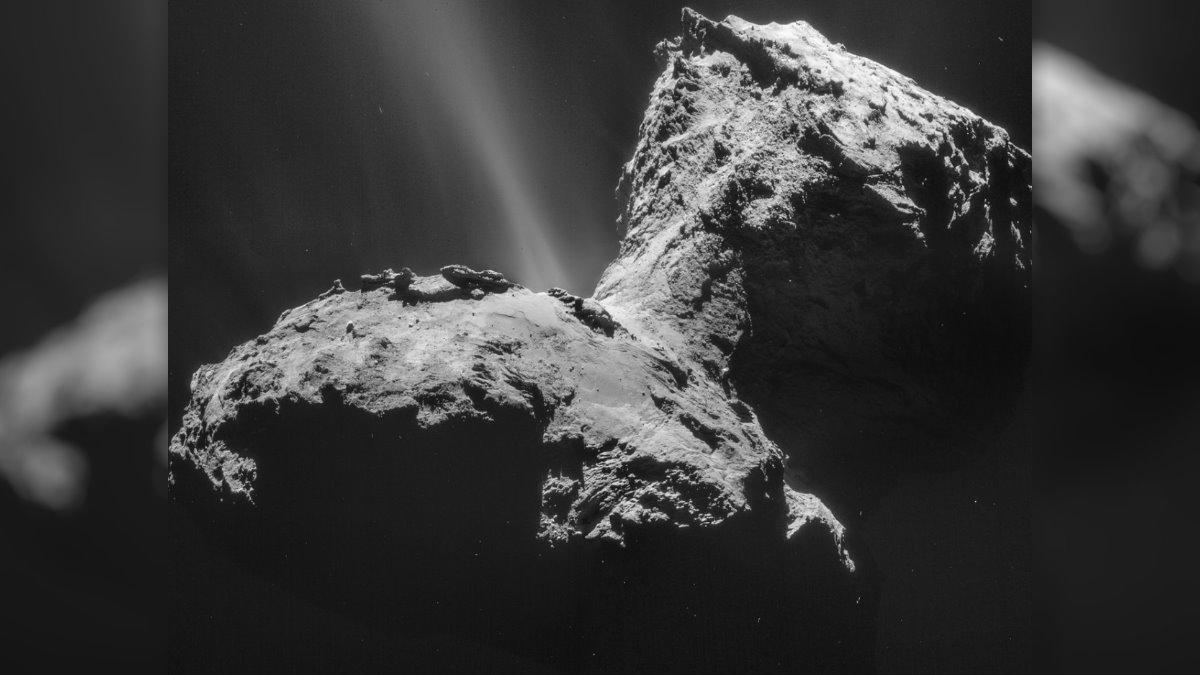 Ядро кометы 67P Чурюмова-Герасименко