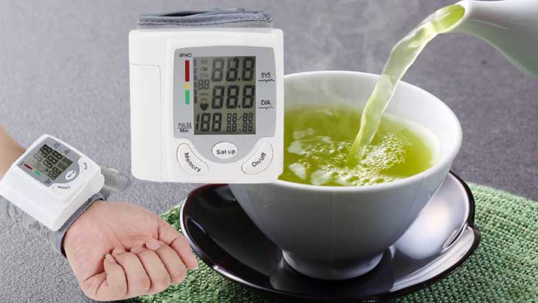 Зеленый чай тонометр давление