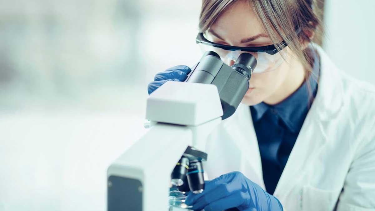 Женщина врач исследования doctor for research
