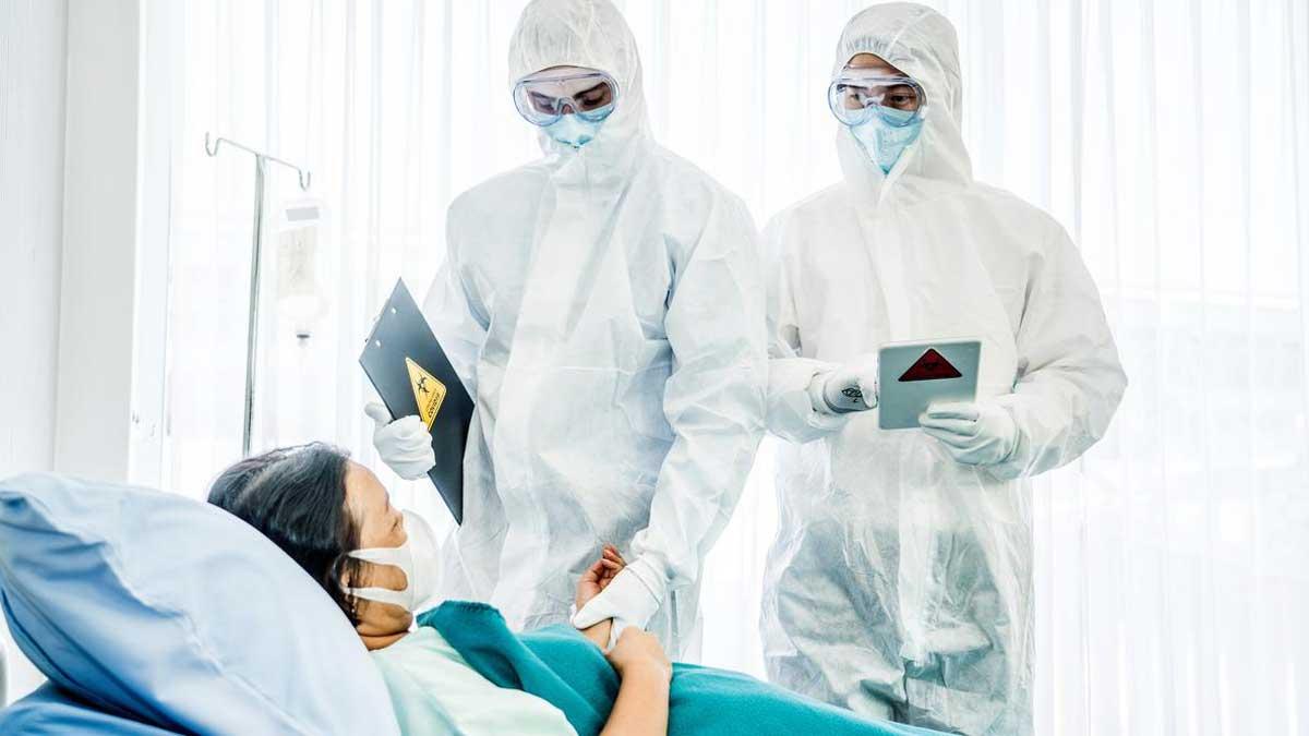 девушка больница коронавирус врачи