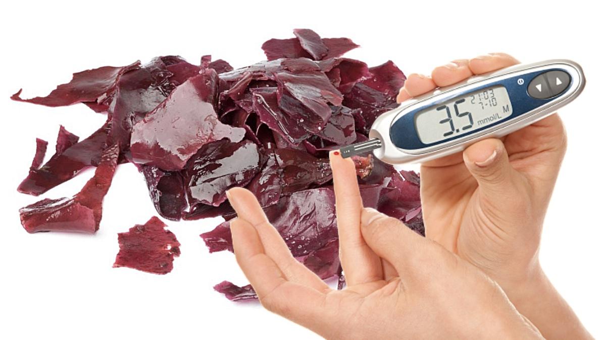 богатые антиоксидантами водоросли дульсе и контроль сахара