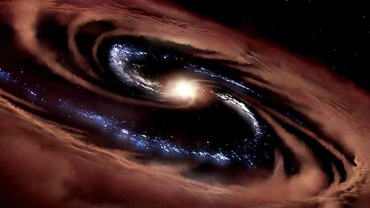 Иллюстрация галактики под названием CQ4479