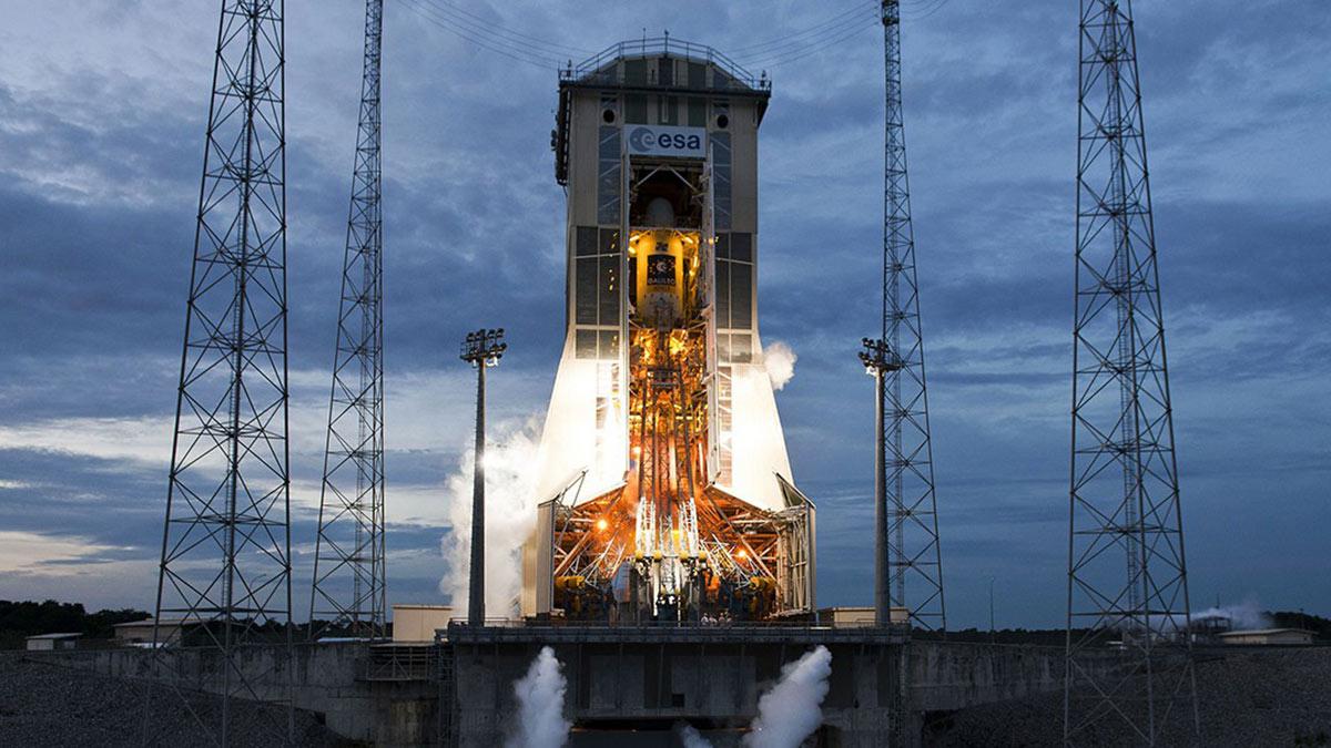 Гвианский космический центр космодром Куру стартовая площадка