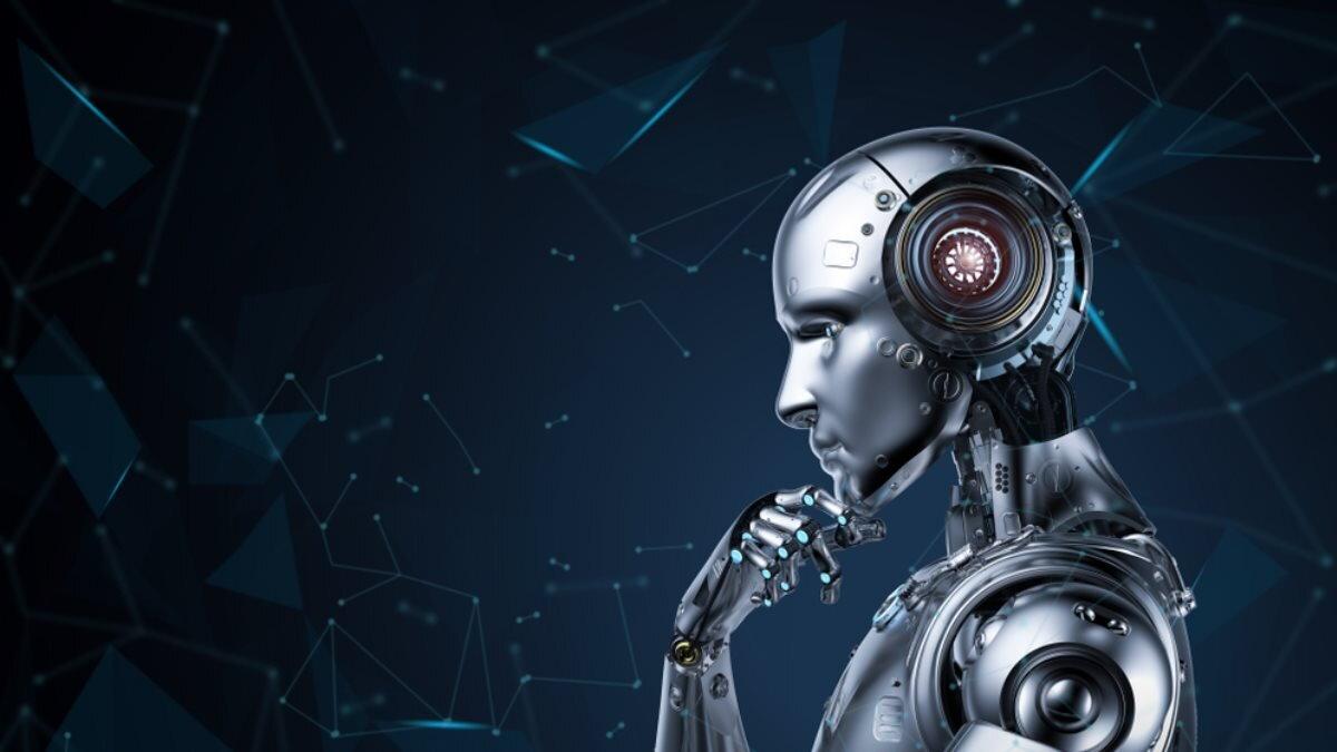 Робот думает искусственный интеллект