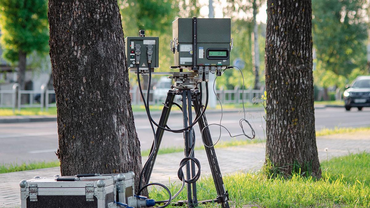 скрытая камера видеофиксации нарушений ПДД дорожная