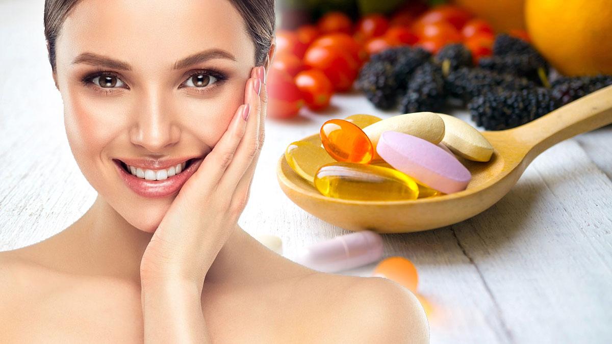 витамины кожа красота здоровье таблетки