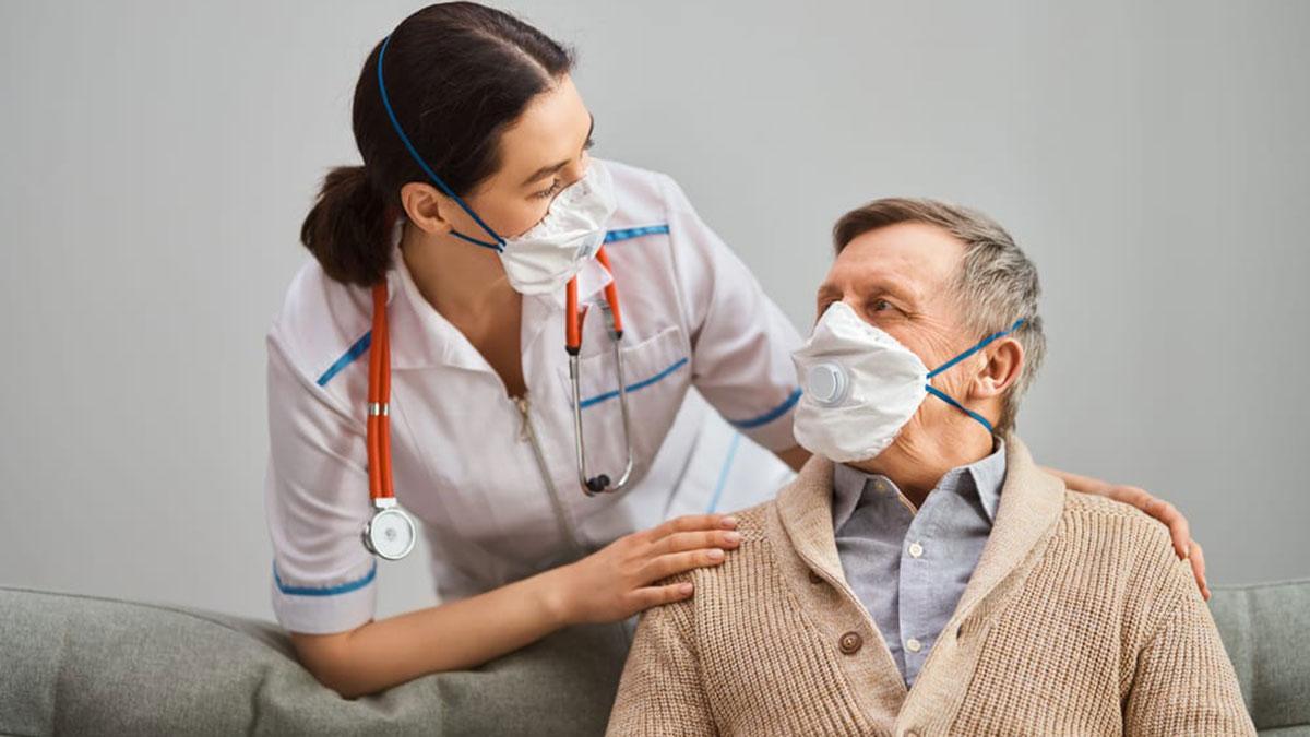врач пациент коронавирус маски covid