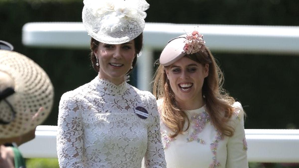 Кейт Миддлтон и принцесса Беатрис