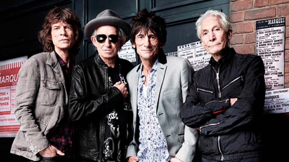 Группа The Rolling Stones два