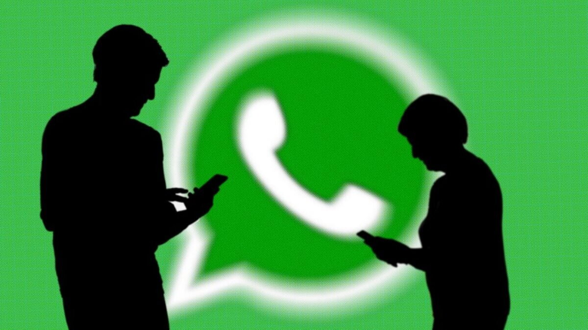 WhatsApp логотип силуэты