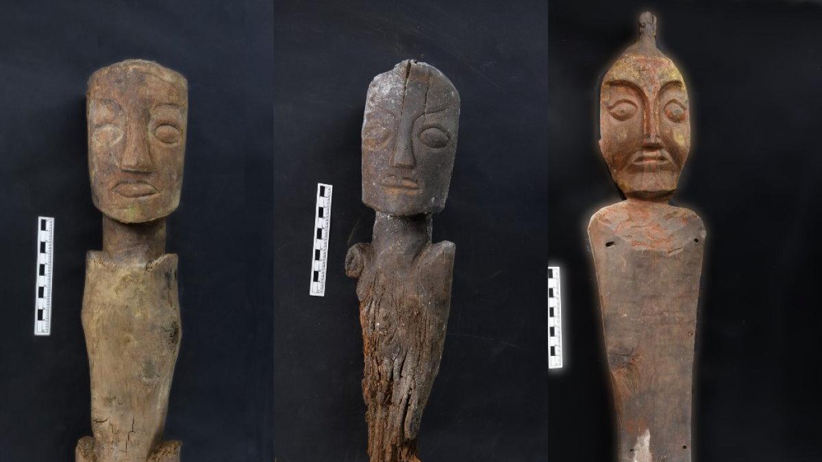 В гробницах Цинхай-Тибетского плато обнаружены деревянные фигурки археология
