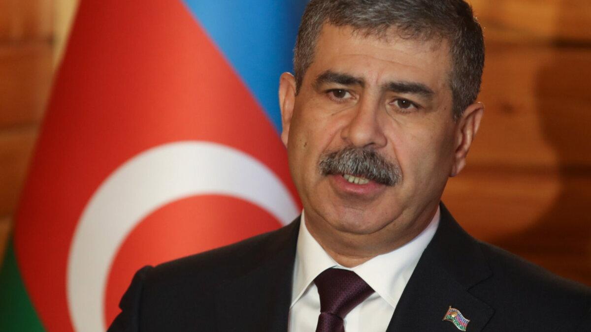 Министр обороны Азербайджанской Республики Закир Гасанов - Zakir Hasanov