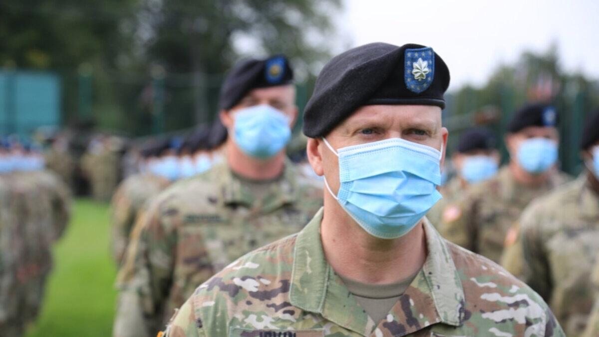 военные солдаты США НАТО Украина армия учения Rapid Trident 2020 два