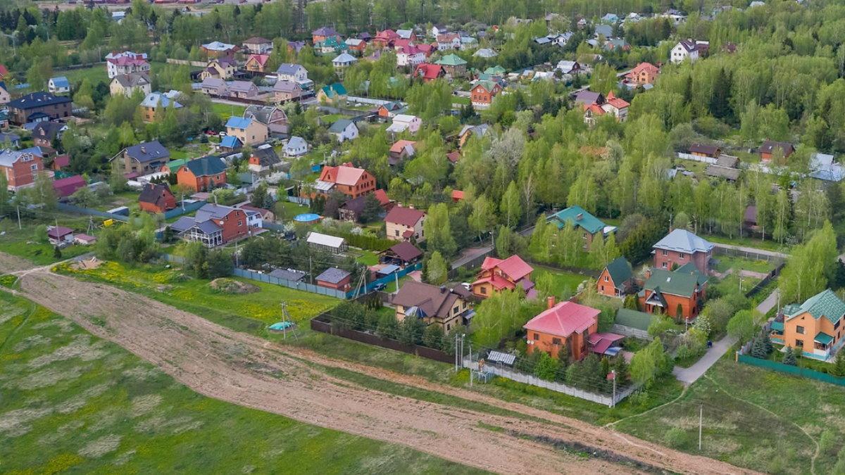 Земельные участки частные загородные дома