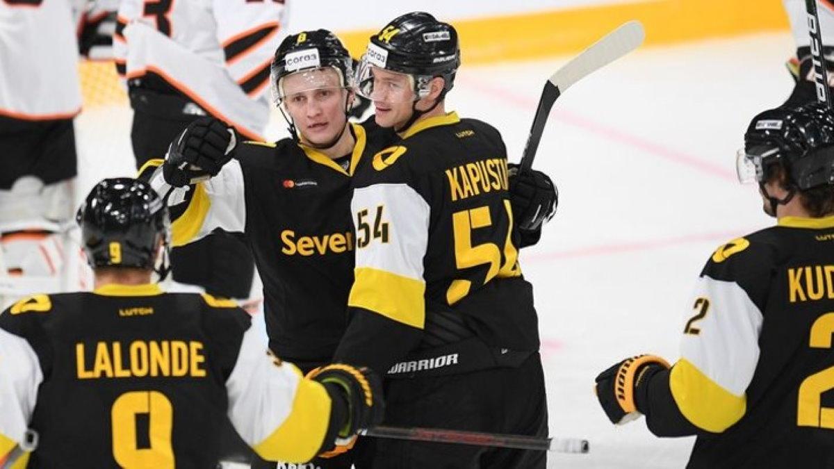 Северсталь хоккей победа