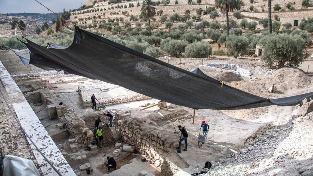 Израиль храм раскопки археология