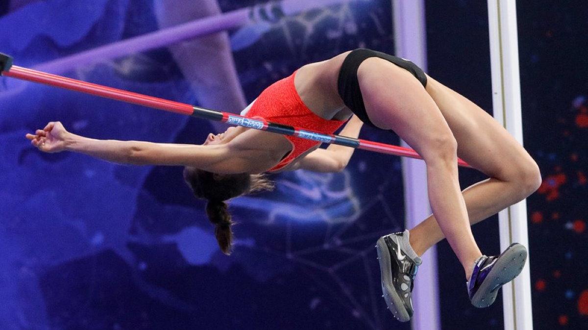 Прыжок прыжки с шестом лёгкая атлетика