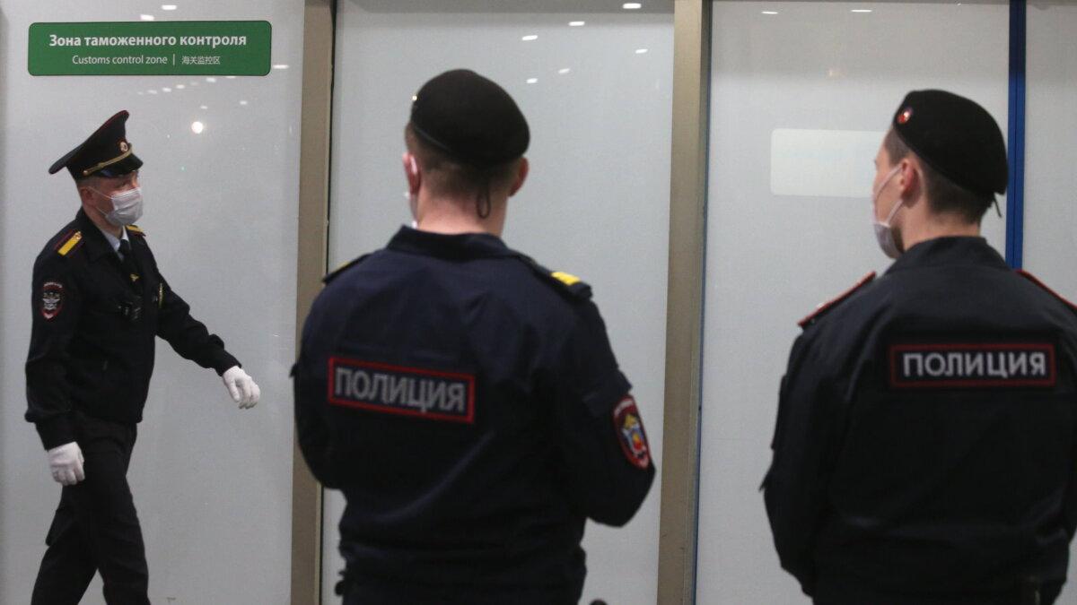 Полиция коронавирус аэропорт Шереметьево Зона таможенного контроля