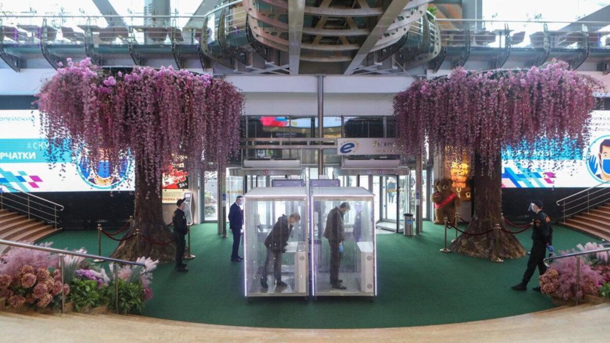 Кабина для дезинфекции торгово-развлекательный центр Европейский