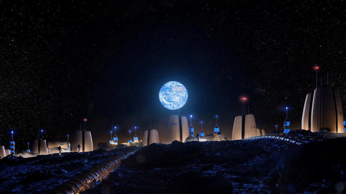 Луна поселение